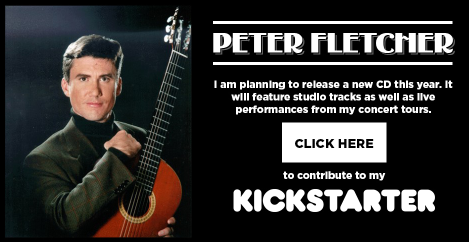 Help Support Peter Fletcher's New CD